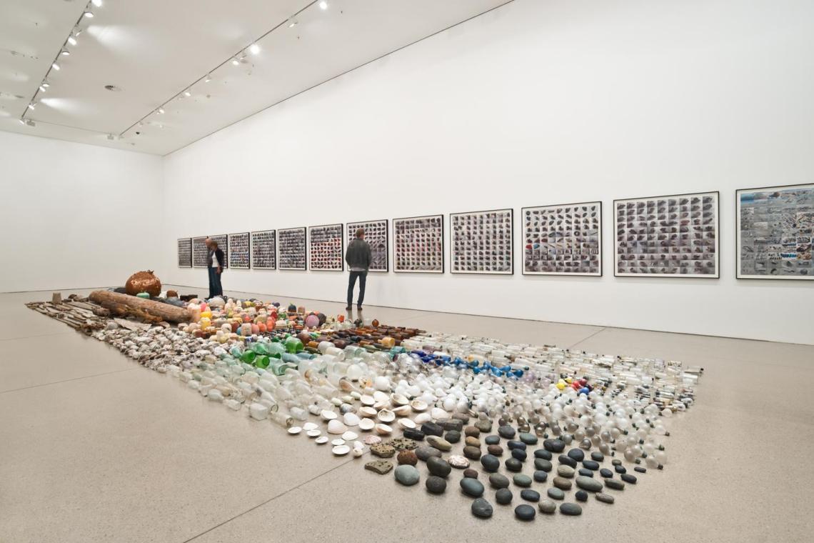 """Deutsche Guggenheim - """"Gabriel Orozco: Asterisms"""",  2012"""