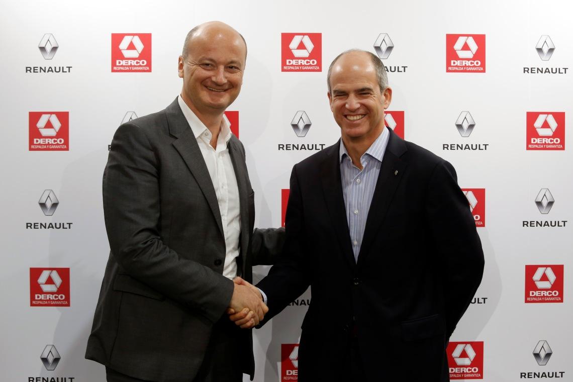 Olivier Murguet, presidente del grupo Renault para América Latina  y Alfonso Marquez de la Plata, CEO grupo Derco.jpg