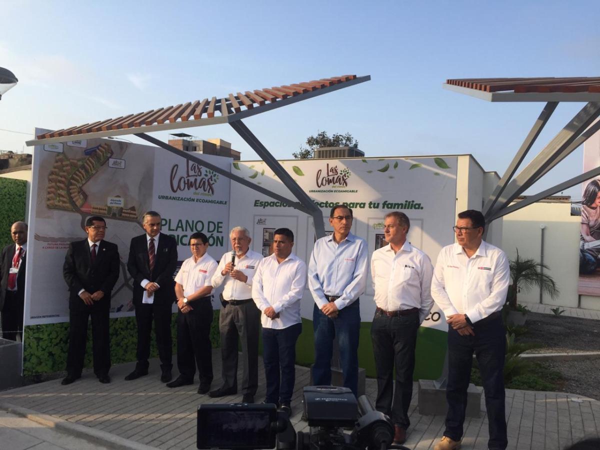 Se construirá proyecto inmobiliario de más de cinco mil departamentos en terrenos contiguos al Fuerte militar Hoyos Rubio del Rímac
