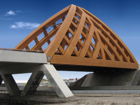 Puente construido en Holanda