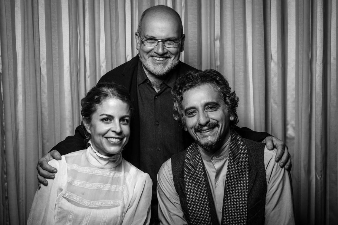 Paloma Rojas, Miguel Iza y Santiago Sánchez