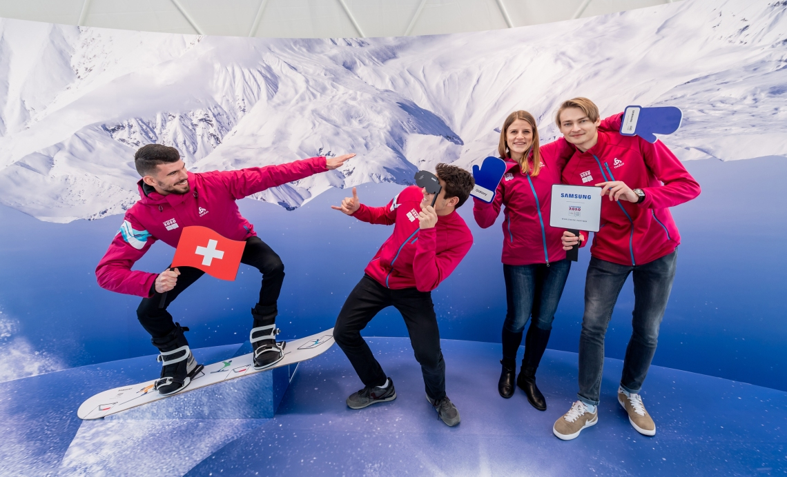 Samsung Olympic Games Showcase at Winter Youth Olympic Games Lausanne 2020(1)