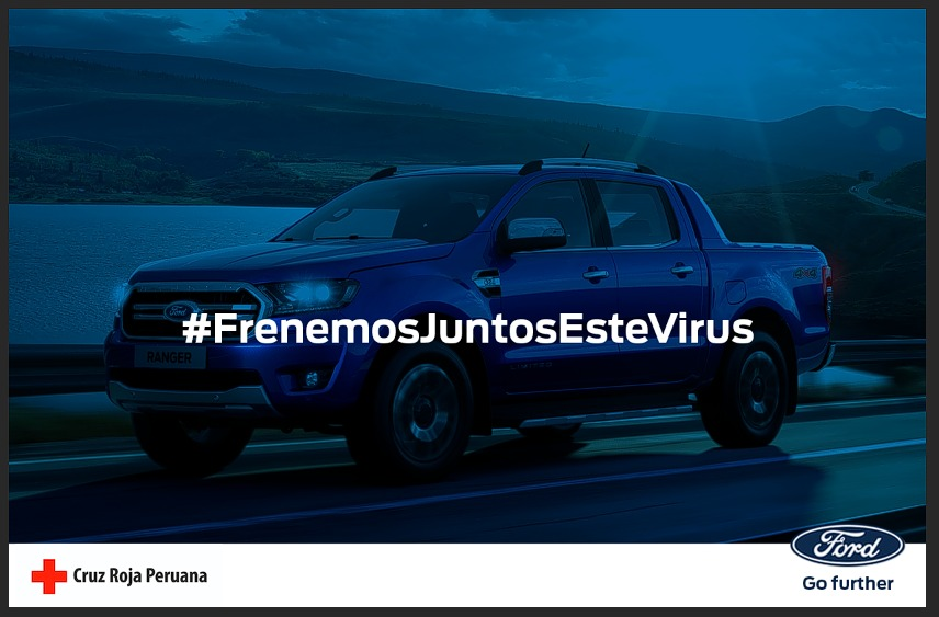 Ford Perú pone a disposición unidades para la Cruz Roja Peruana