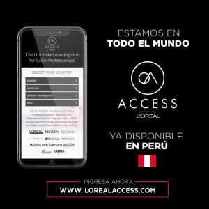LOREAL ACCESS disponible en Peru