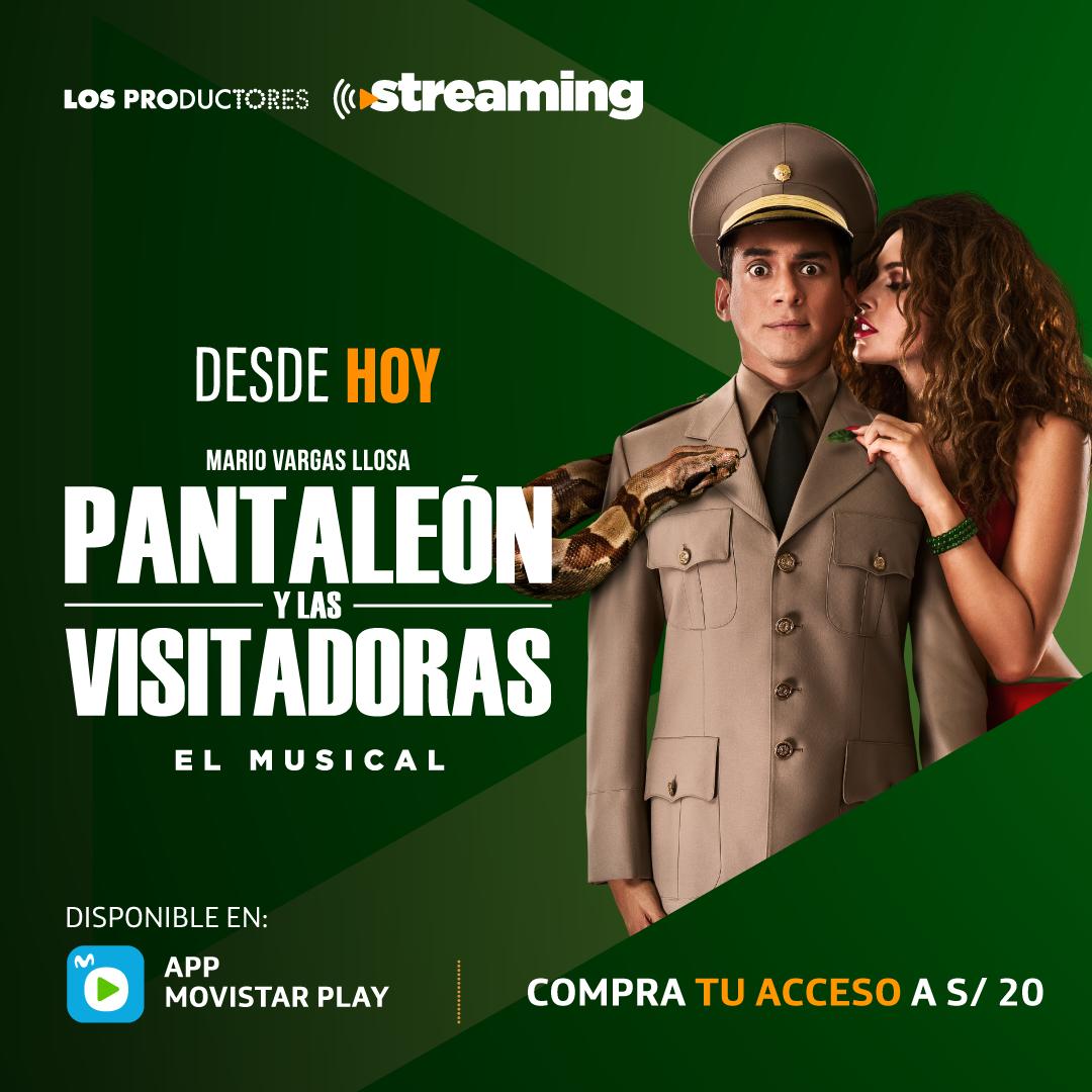 Obra de teatro Pantaleón y las visitadoras por MPLay