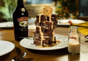 Torre de Baileys con helado