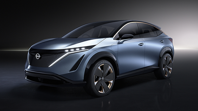 Nissan Ariya Concept exterior