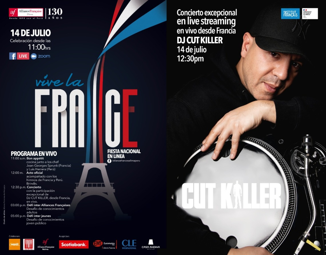Afiche Dia de Francia