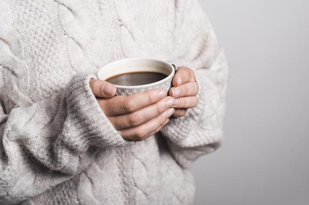 bebida caliente invierno