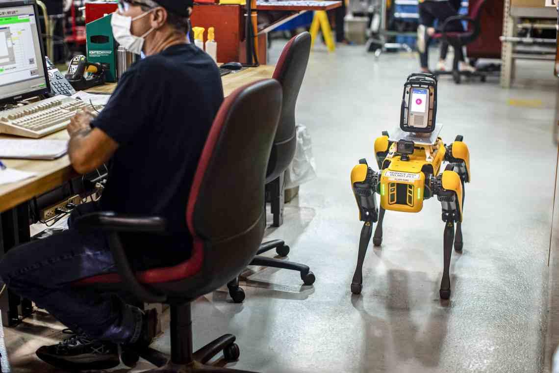 Perros robot de Ford (5)