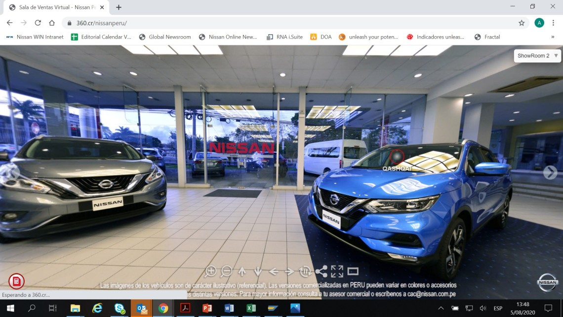 Showroom-Virtual-Nissan