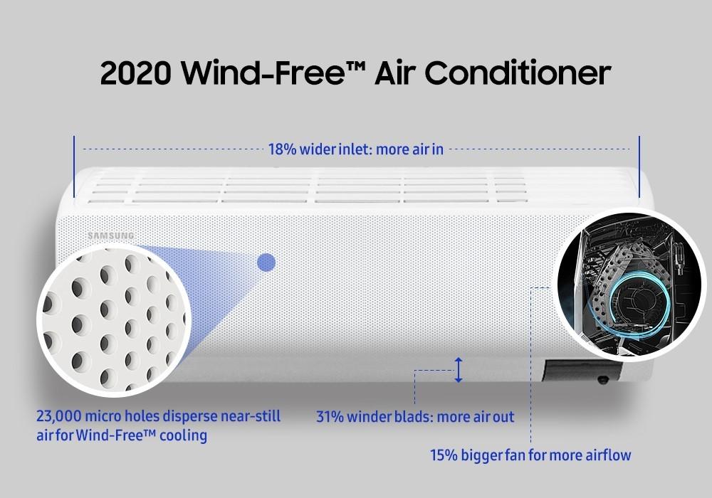 Los beneficios de la tecnología Wind-Free™ del aire acondicionado de Samsung | Noticias de Buenaventura, Colombia y el Mundo